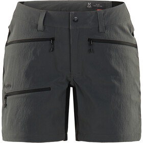 Haglöfs Rugged Flex Short Femme, magnetite/true black